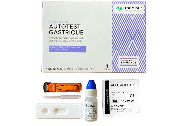 Autotest Gastrique détection d'anticorps dirigés contre helicobacter pylori